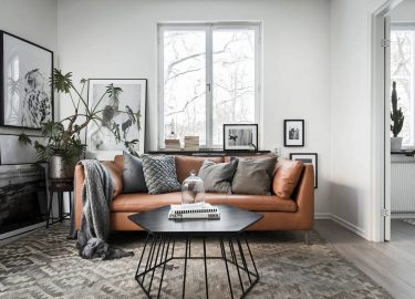 Match made in heaven: combineer grijs en bruin in je interieur - Roomed