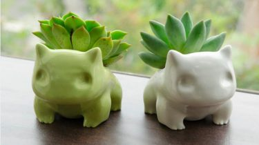 pokemon bulbasaur planter pot bloempot