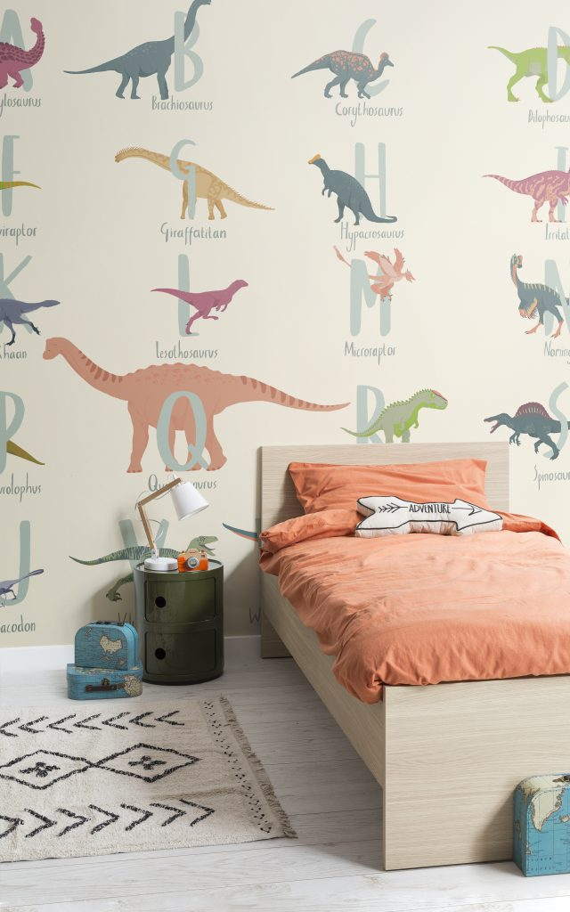 dinosaurus behang kinderkamer