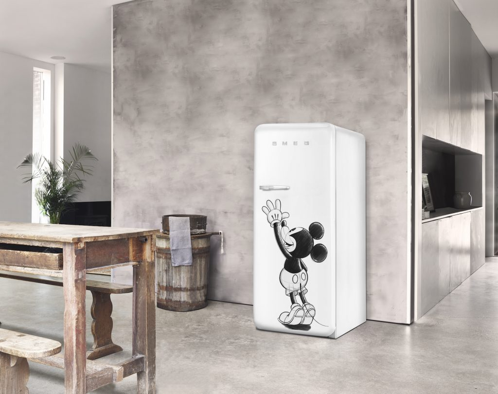 SMEG koelkast Disney mickey mouse