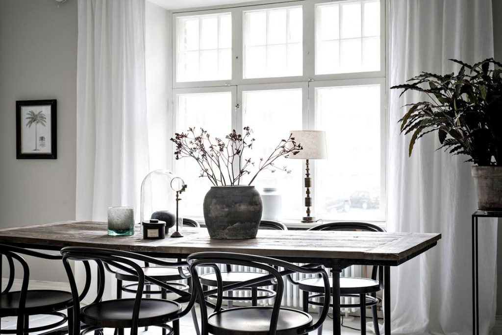 tafel in interieur