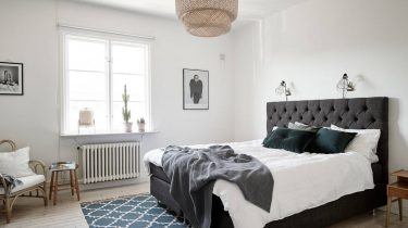donkerblauw appartement chique