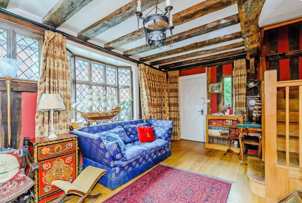 Woonkamer Harry Potter Airbnb