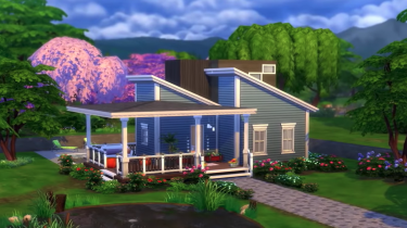 The Sims 4 tiny living