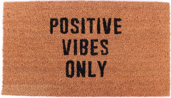 Deurmat positive vibes only